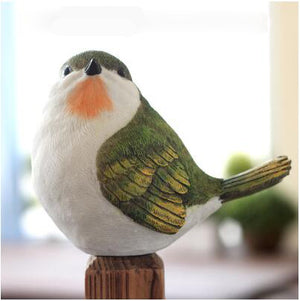 Little Darlings! Lifesize Resin Bird Figurines - Garden Gift Hub