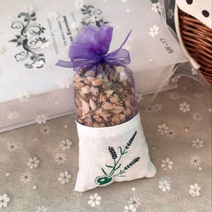 Heavenly Scents of Natural Dried Lavender Flowers, Jasmine and Rose Buds in Sachet Bags - Garden Gift Hub