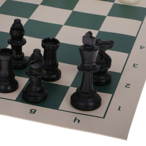 Outdoors, Garden, BBQ, Beach or Indoor Weatherproof Roll-up Chess Set - Garden Gift Hub