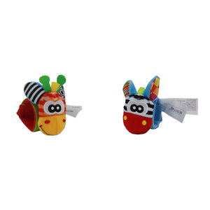 Novelty Sozzy Musical Animals - 2pcs Wristband, 2pcs Socks For Baby - Garden Gift Hub