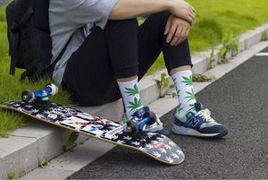 Groovy Weed Socks for all Seasons.  For Men and Women. One Size Fits All - Garden Gift Hub