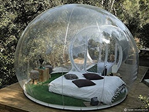 Amazing Transparent Inflatable Bubble Tent - Garden Gift Hub