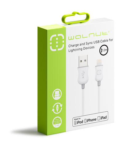MFI Lightning Cable White/Grey 1.2m