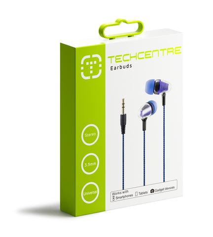 Earbuds Blue
