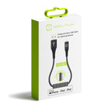 MFI Lightning Braided Cable Black 1.2m