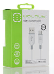 Type C Cable White/Grey 2m