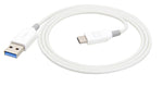 3.0 Type C Cable White/Grey 1.2m