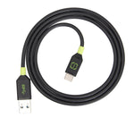 3.0 Type C Cable Black/Green 1.2m