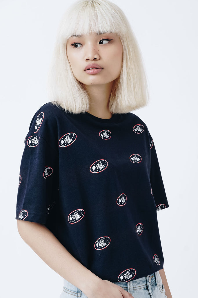 Delivery Service Overall Boxy Tee