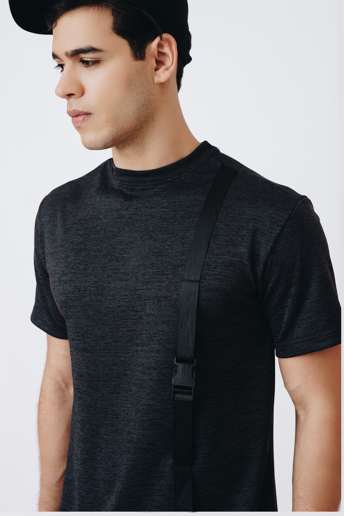Relaxed Buckled Tee