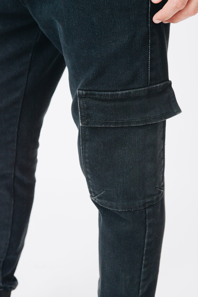 Buck Carrot Pants- Denim