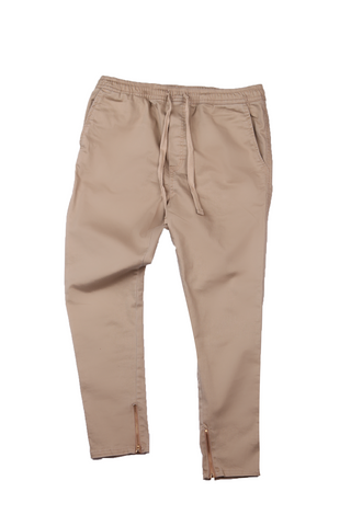 Scrap Carrot Pants- Twill