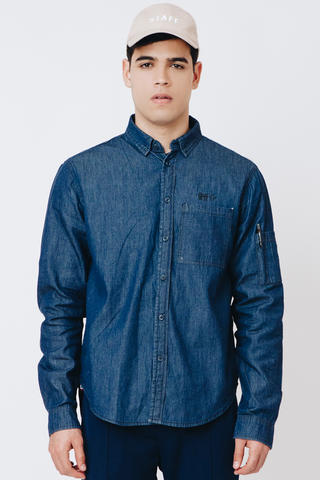 Worker's Denim Shirt 01