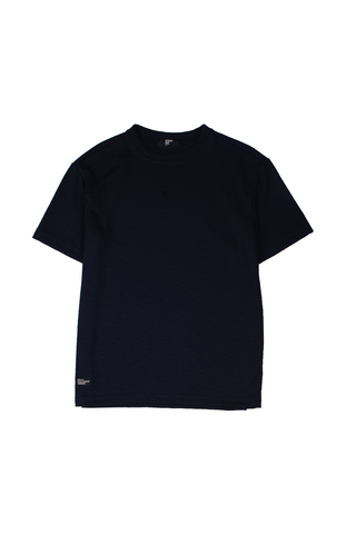 Staff Daily Tee - Black/Dark Nblue