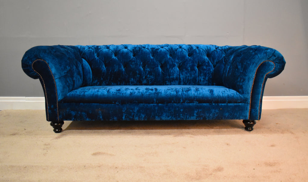 Velvet Chesterfield Sofas Chesterfields Of England