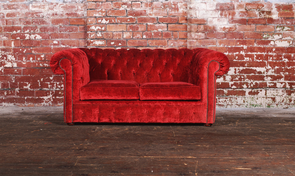 Crushed Velvet 2 seat Sofa Bed - £600