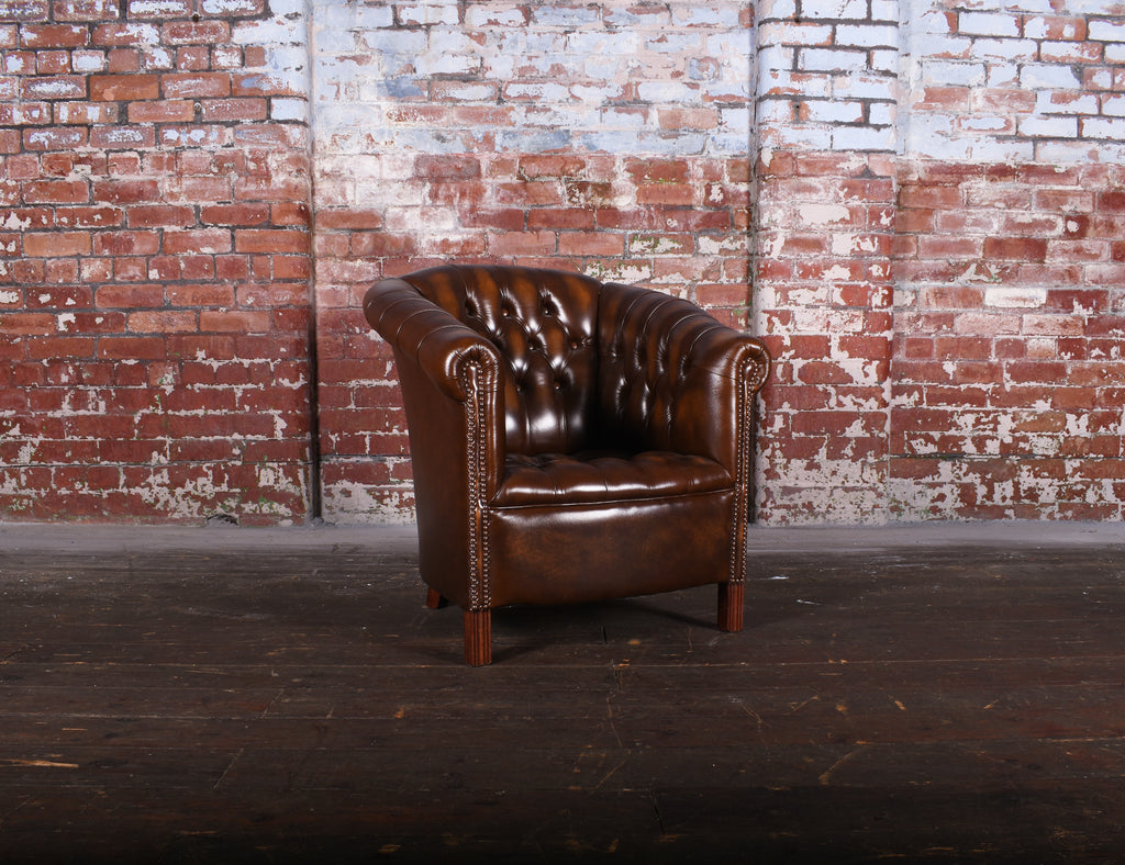 Pall Mall Chair in Antique Brown - £479 RRP 1229.22