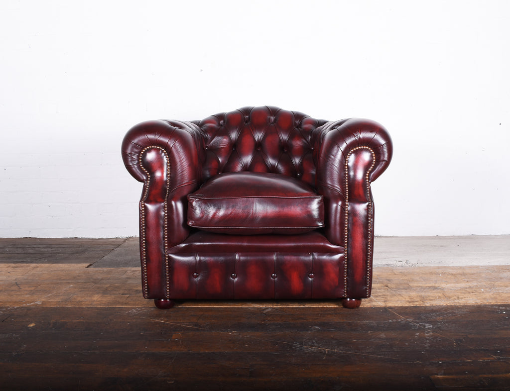 Oxford Chair in Antique red £500 RRP £1395.28