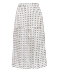Liberty comet print silk skirt