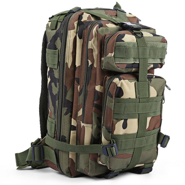 3P Tactical Backpack Military Backpack Oxford Sport Bag 30L for Camping Climbing Bags