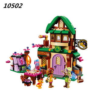 348Pcs Elves The Starlight Inn Kits minis Compatible With 41174 Building Blocks Bricks Girl Toys