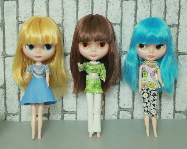 cheap RBL NO.1-7 DIY Nude Blyth doll birthday gift for girls 4 colours