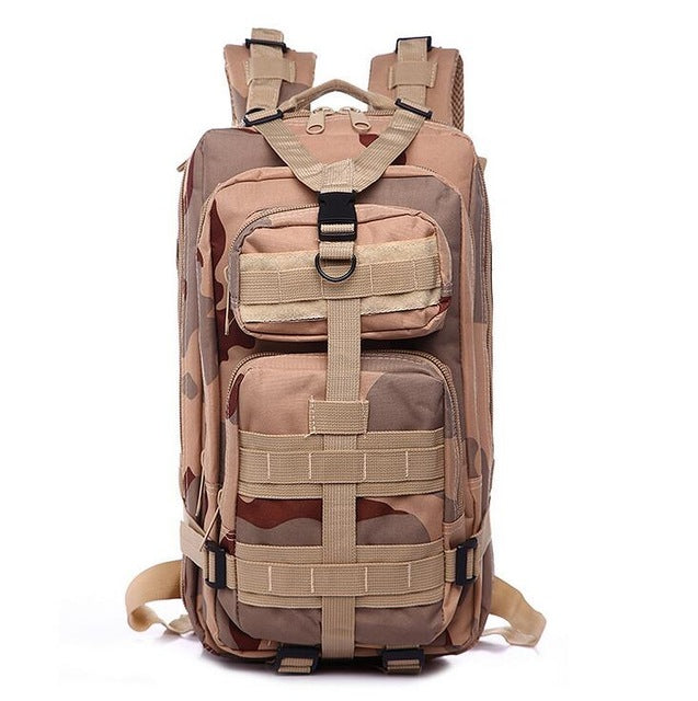3P Military Bag Army Tactical Outdoor Camping Tactical Backpack Oxford 25L