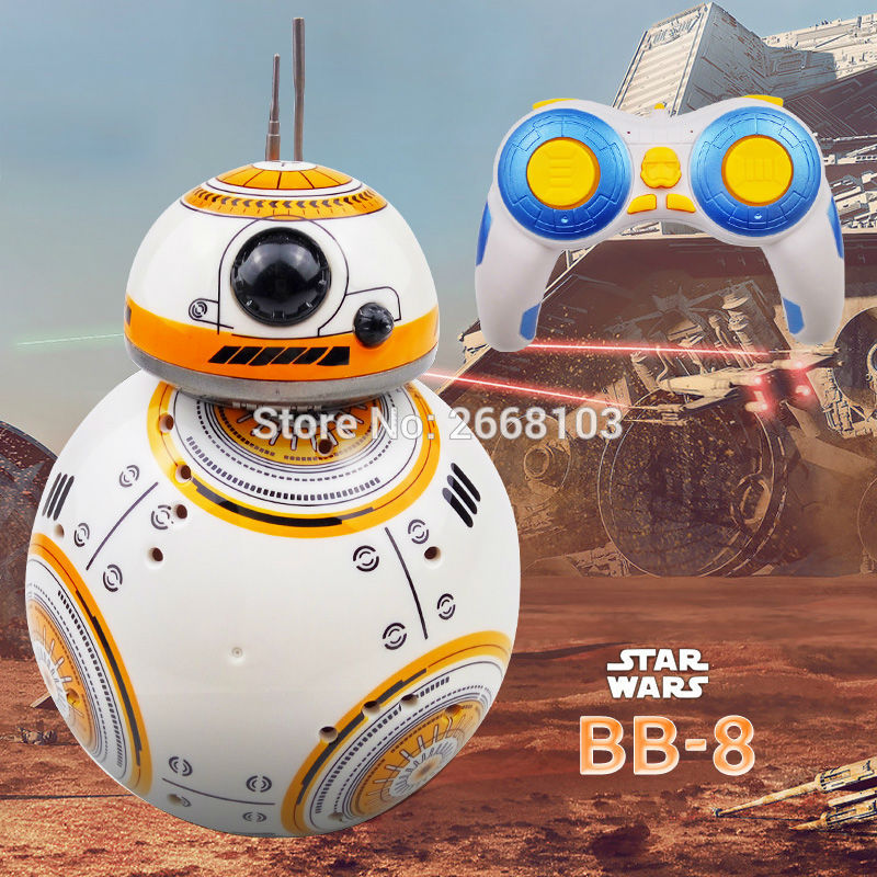 Star Wars RC BB-8 Droid Robot BB8 Ball  With Sound 2.4G Remote Control