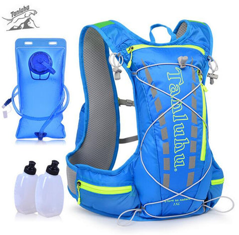 15L Running Backpack Trail Racing Hydration Vest Pack Outdoor Camping Hiking Running