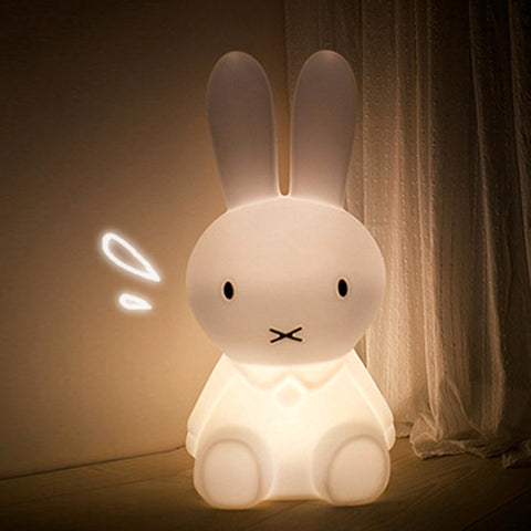 Rabbit Led Night Light Dimmable Bedside Baby Sleeping Night Lamps