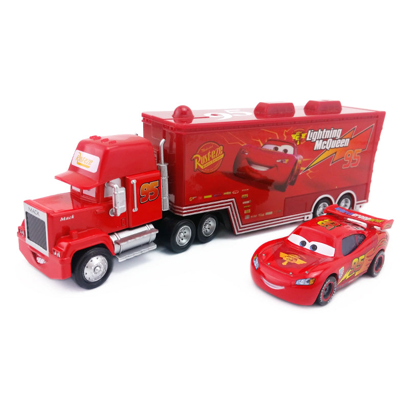 Disney Pixar Cars Mack Fabulous Hudson Truck Toy scale 1:55