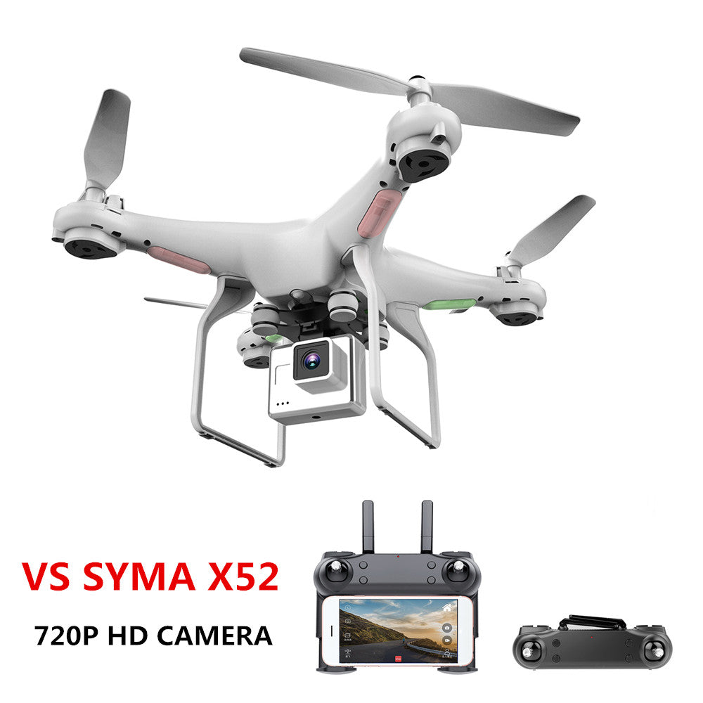 Drone, Camera 720P HD 0.3W VS SYMA X52 Dron RC Drone Full hd Camera Drone Professional