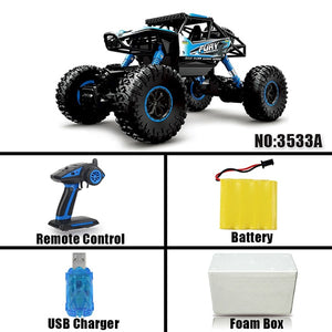 RC Car 1:12 4WD Machine On The Remote Control High Speed Vehicle 2.4Ghz Electric RC Toys