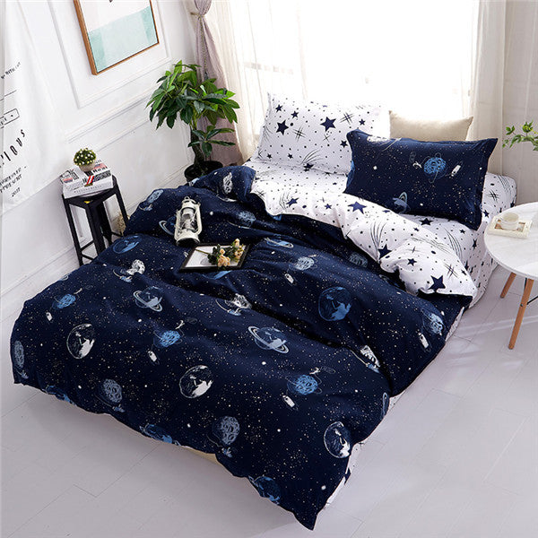 Bedding Sets Duvet Cover Pillowcase Sheet Linen Twin Full Queen King Size 3/4Pcs