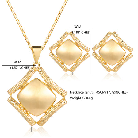 OUMEILY Dubai Gold Color Jewelry Sets for Women Bridal African Beads Jewelry Set 2018 Nigerian Wedding Jewellery Set Necklace