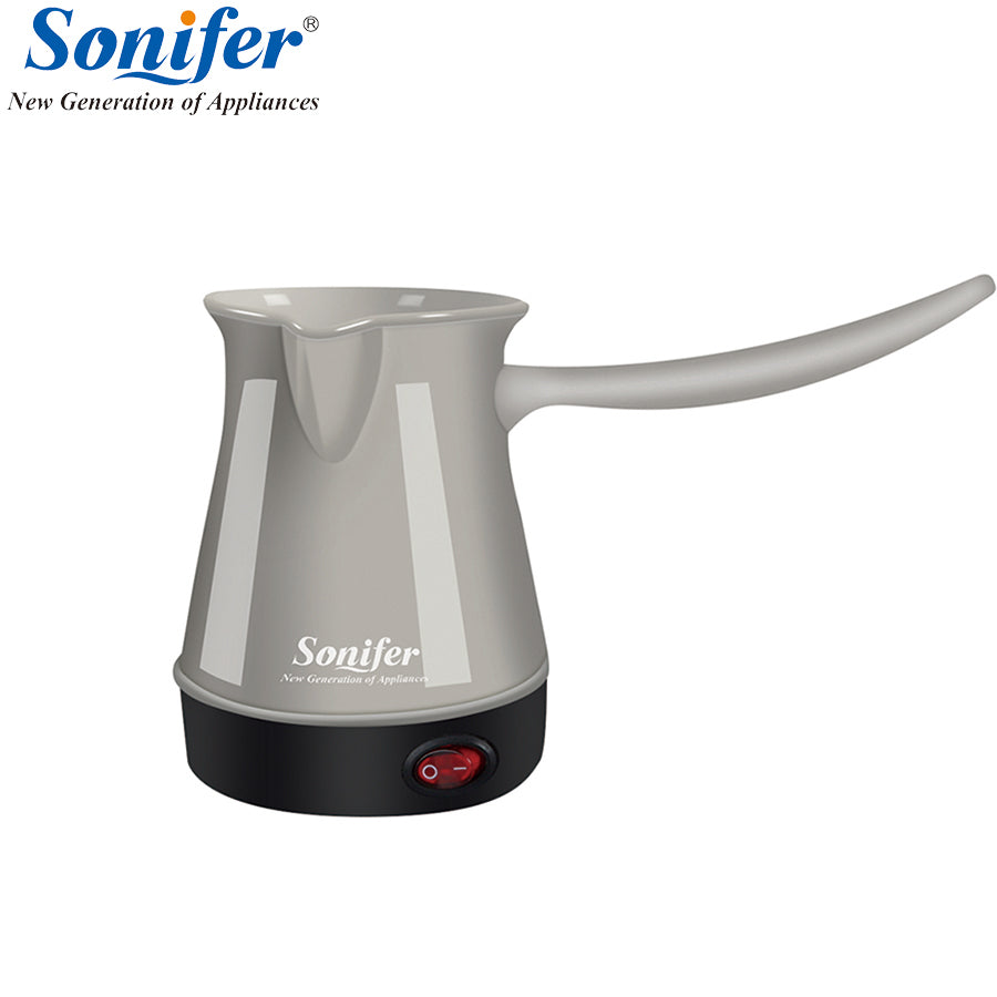 Colorful mini Coffee Machine Turkey Coffee Maker portable Electrical Coffee Pot Food Grade Coffee Kettle Sonifer