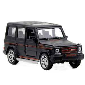 Mini AMG G55 Diecast Metal Car Toy 1:32 Scale G65 Pull Back Alloy Car Flashing Musice Auto Model Collection Car Oyuncak for Boy