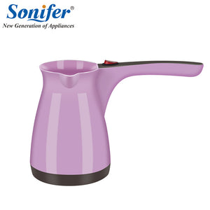 Italienisch Original Colorful Coffee Machine Turkey Coffee Maker portable Electrical Coffee Pot Food Grade Coffee Kettle Sonifer