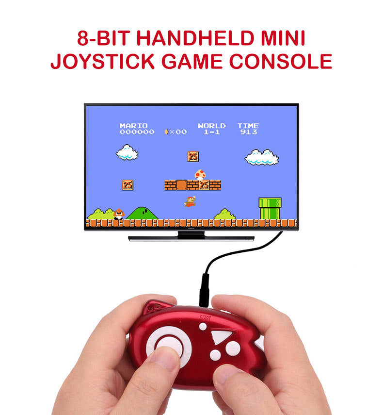 Handheld Game Player TV Video Game Console Childhood AV Built-in 89 Games Mini Console