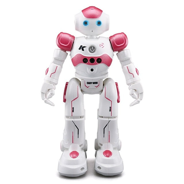 JJR/C JJRC R2 USB Charging Singing Dancing Gesture Control RC Robot Toy Blue Pink For Kids
