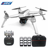 JJPRO X5 5G WiFi FPV Professional RC Drone GPS 1080P Camera With 3 Batteries 1 Bag