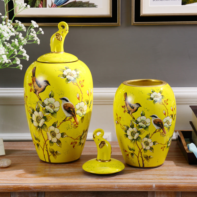 jewelry Home Furnishing storage tank tank general American TV cabinet cabinet room decoration dry vase ornaments