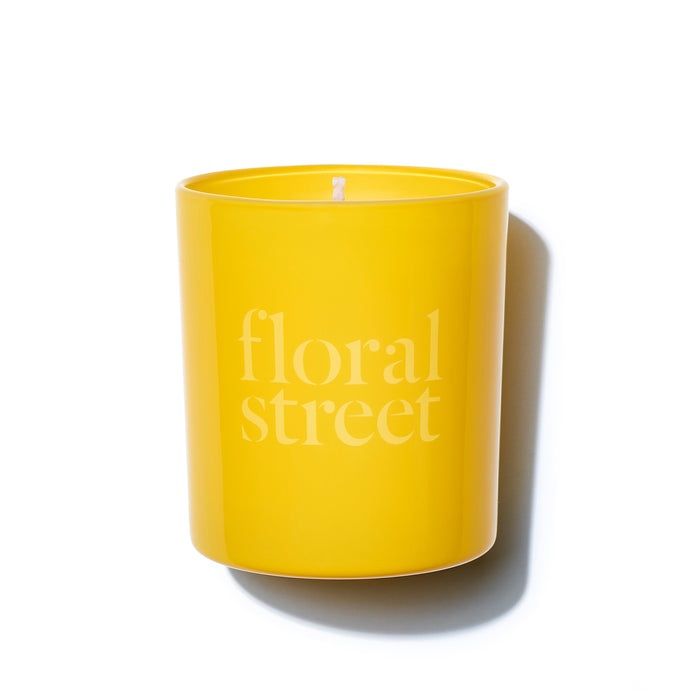 Floral Street Sunshine Bloom cruelty free and vegan scented candle 200g