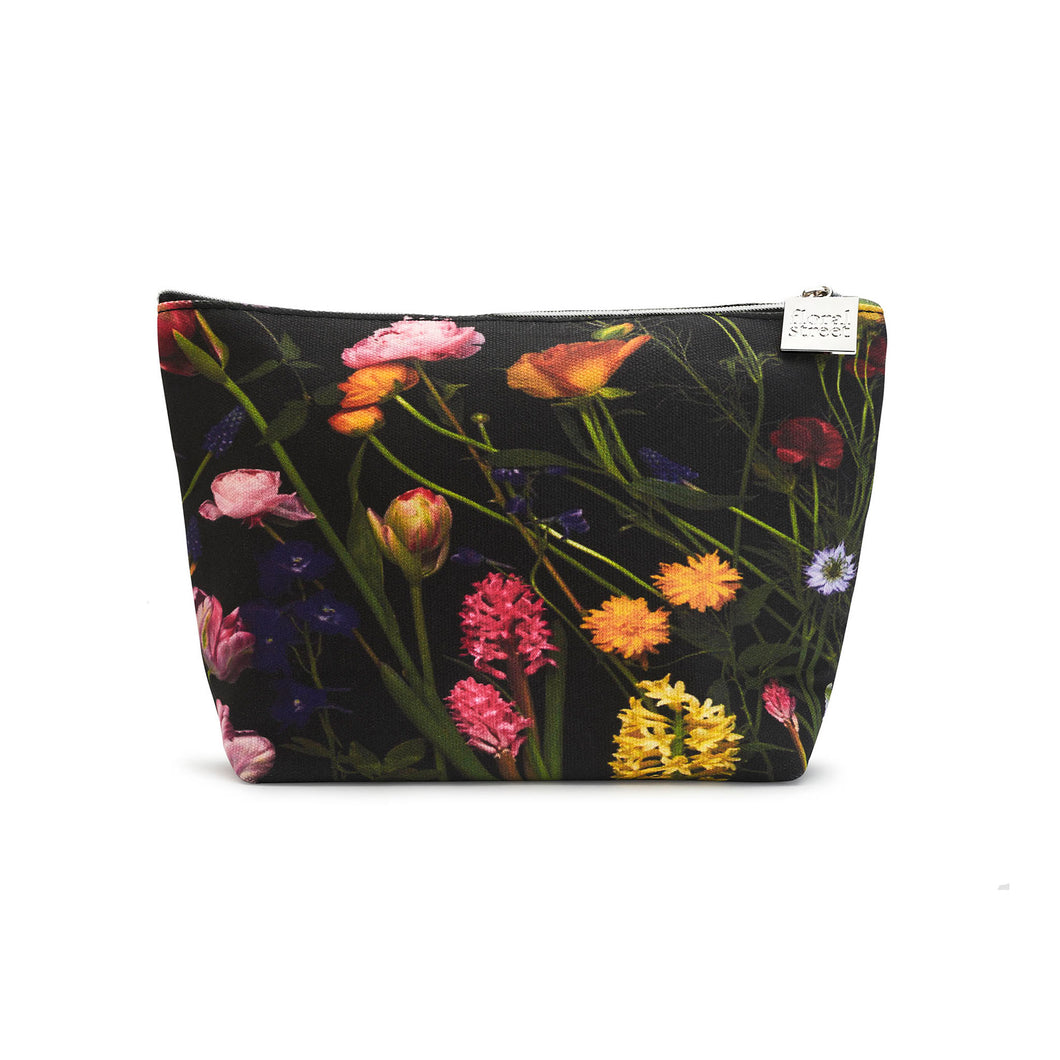 Floral Print Beauty Bag