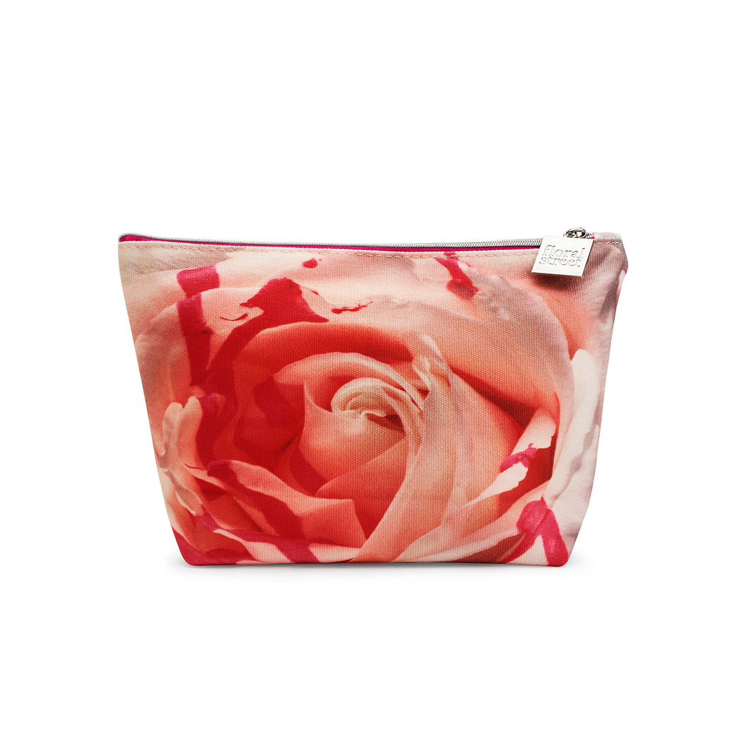 Neon Rose Beauty Bag