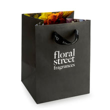 Floral Street recyclable sustainable gift bag black
