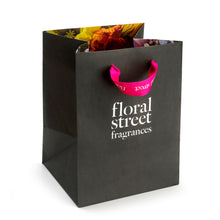 Floral Street recyclable sustainable gift bag hot pink