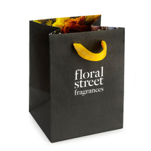 Floral Street recyclable sustainable gift bag yellow