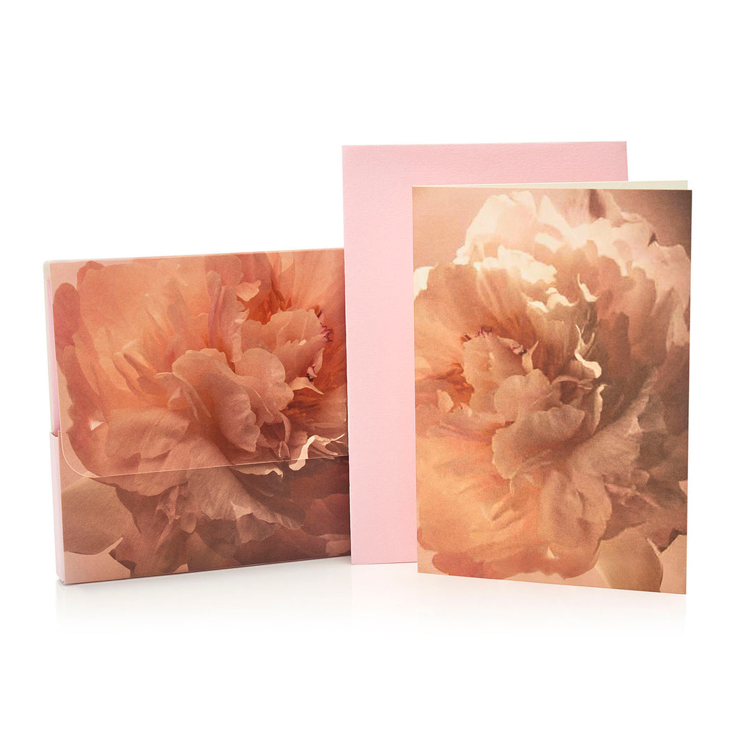 wonderland peony scented notelets
