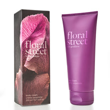 Floral Street Iris Goddess Vegan Scented Body Cream in recyclable sugarcane packaging